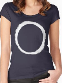 Eclipse Shirt (Dan Howell)  Women's Fitted Scoop T-Shirt