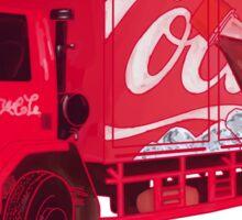 Coca Cola Car Sticker