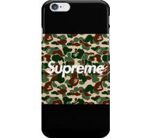 Bape x Supreme: Camo Box Logo iPhone Case/Skin