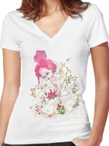 The Bride Women's Fitted V-Neck T-Shirt