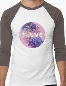 flume skin - circle Men's Baseball ¾ T-Shirt