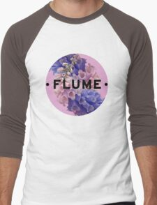 flume skin - circle Men's Baseball ¾ T-Shirt