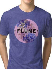flume skin - circle Tri-blend T-Shirt