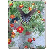 Butterfly on Marigolds iPad Case/Skin