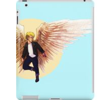 Feathers and Leather iPad Case/Skin