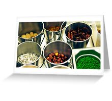 Mise-en-place Greeting Card