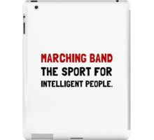 Marching Band Intelligent iPad Case/Skin