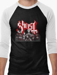 Papa Emeritus & Nameless Ghouls (Ghost Ghost BC) Men's Baseball ¾ T-Shirt