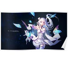 Anime: Re:Zero kara Hajimeru Isekai Seikatsu Poster