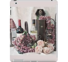Our Wine Tasting Day iPad Case/Skin