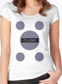 Flume - MultiRound  Women's Fitted Scoop T-Shirt