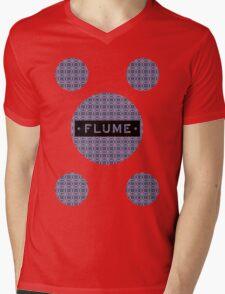 Flume - MultiRound  Mens V-Neck T-Shirt