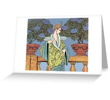 Art Deco 9 Greeting Card