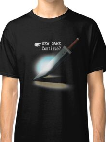 New Game / Continue? Classic T-Shirt