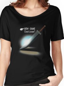 New Game / Continue? Women's Relaxed Fit T-Shirt