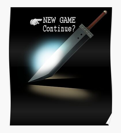 New Game / Continue? Poster
