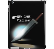 New Game / Continue? iPad Case/Skin