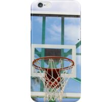 Glass Backboard with a Palm Tree iPhone Case/Skin
