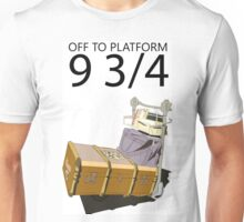 Hogwarts Luggage  Unisex T-Shirt
