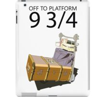 Hogwarts Luggage  iPad Case/Skin