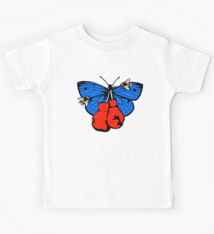 Butterfly, Bees and Boxing Gloves Kids Tee