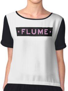 Flume Chiffon Top