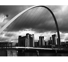 The Storm on the Tyne(is all mine all mine) Photographic Print