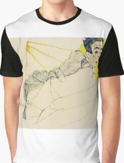 Egon Schiele - Reclining Boy. Schiele, Reclining Boy Graphic T-Shirt