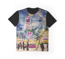 Ferris Wheel Graphic T-Shirt