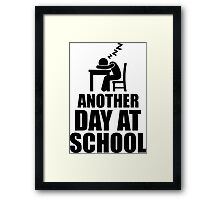 Another Day At School Framed Print