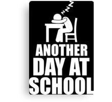 Another Day At School Canvas Print