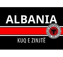 Albanian Football Team Photographic Print
