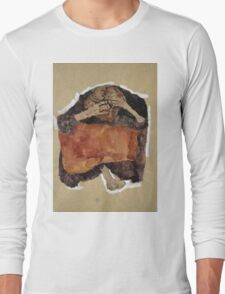 Egon Schiele - Troubled Woman. Schiele - woman portrait. Long Sleeve T-Shirt