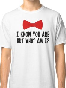 Pee Wee Herman - I Know You Are But What Am I? Classic T-Shirt