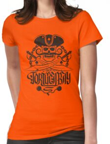 Tortuga pirates skull logo Womens Fitted T-Shirt