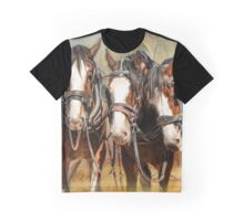 Clydesdale Conversation Graphic T-Shirt