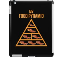 Bacon Food Pyramid iPad Case/Skin
