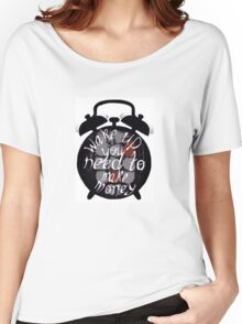 Stressed out clock Women's Relaxed Fit T-Shirt