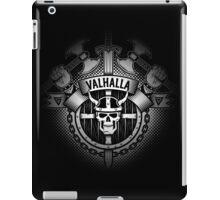 Valhalla skull logo iPad Case/Skin