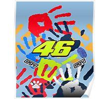 Valentino Rossi Misano Poster