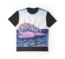 Man O' War on the Open Sea Graphic T-Shirt