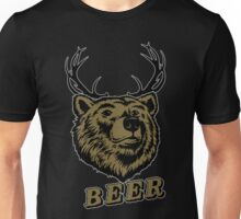 Bear Deer (Beer) Unisex T-Shirt