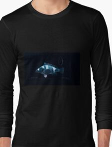 Natural History Fish Histoire naturelle des poissons Georges V1 V2 Cuvier 1849 206 Inverted Long Sleeve T-Shirt
