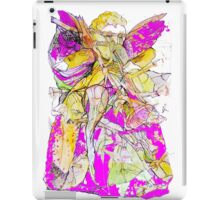 Purple Gowned Angel Playing a Trumpet  iPad Case/Skin