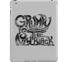 Grumpy is the new black.... iPad Case/Skin