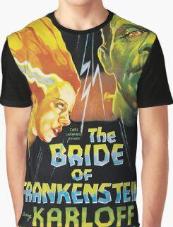 The Bride Of Frankenstein Graphic T-Shirt