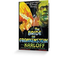 The Bride Of Frankenstein Greeting Card