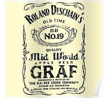Roland Deschain's Mid-World Graf (Black) Poster