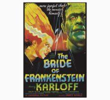 The Bride Of Frankenstein One Piece - Short Sleeve