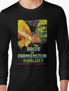The Bride Of Frankenstein Long Sleeve T-Shirt
